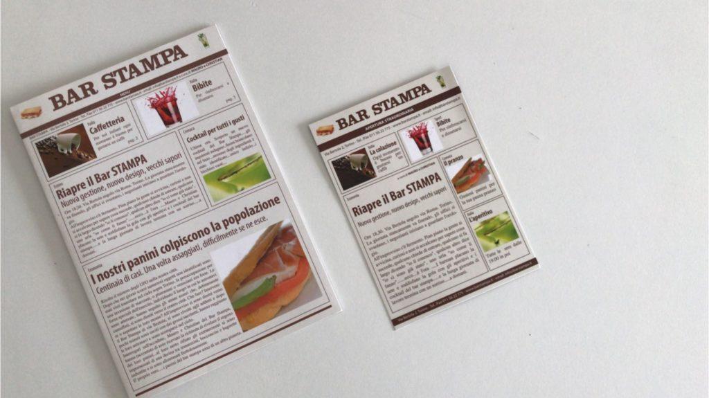 Bar Stampa Menù vecchio sito